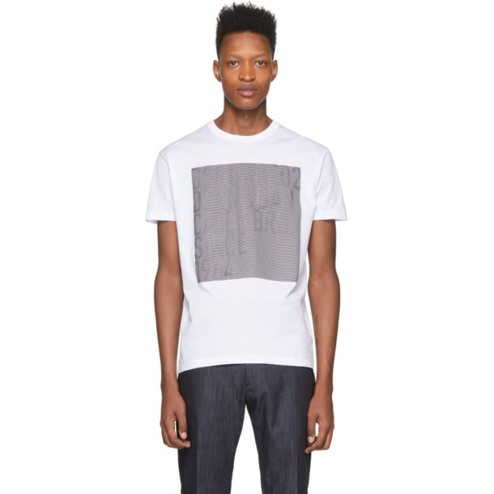 ディースクエアード Dsquared2 メンズ Tシャツ トップス【White Faded T-Shirt】White