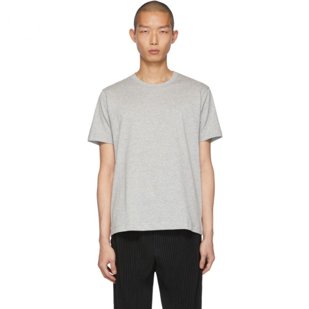 コム デ ギャルソン Comme des Garcons Shirt メンズ Tシャツ トップス【Grey Fine Jersey Plain T-Shirt】Top grey