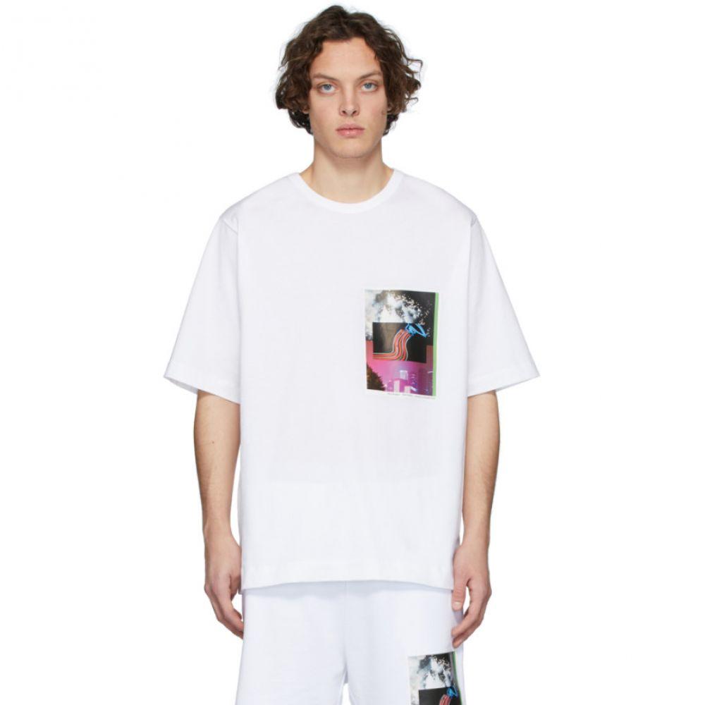 ドリス ヴァン ノッテン Dries Van Noten メンズ Tシャツ トップス【SSENSE Exclusive White Mika Ninagawa Edition Print T-Shirt】White