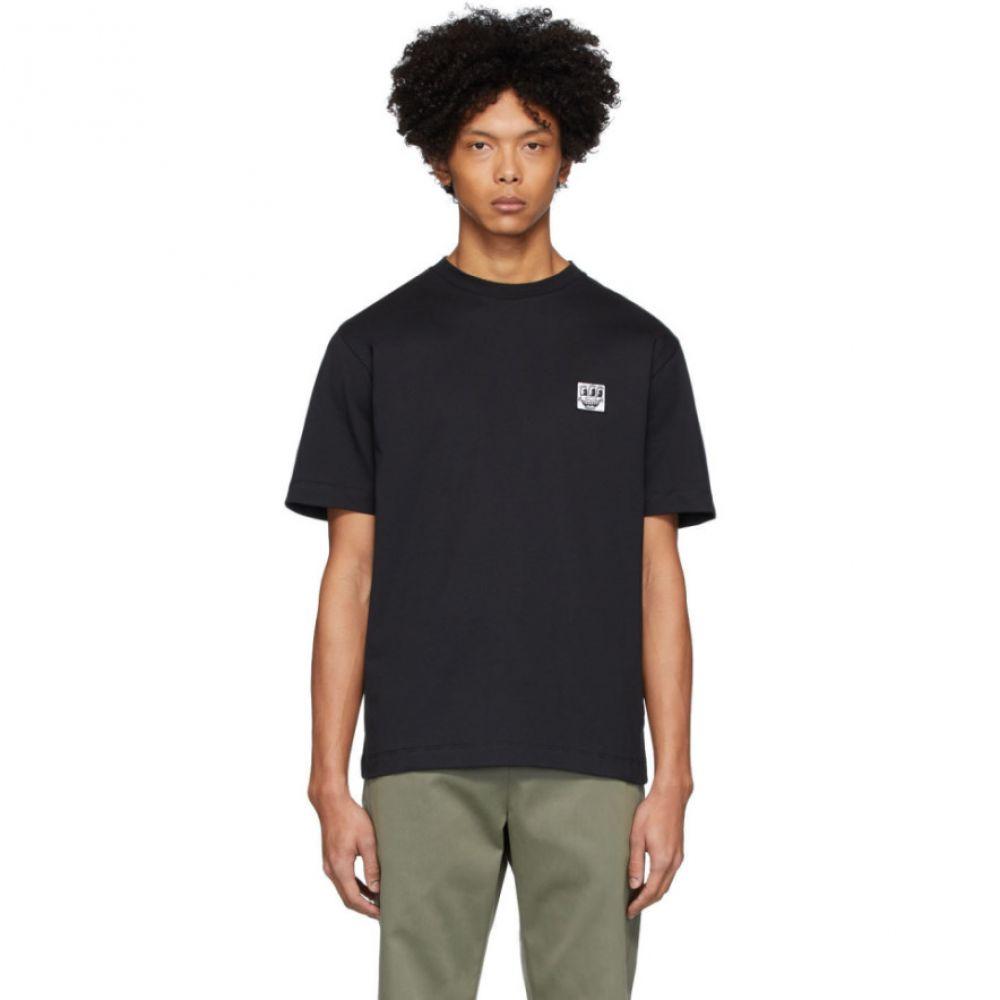 エチュード Etudes メンズ Tシャツ トップス【Black Keith Haring Edition Wonder T-Shirt】Black