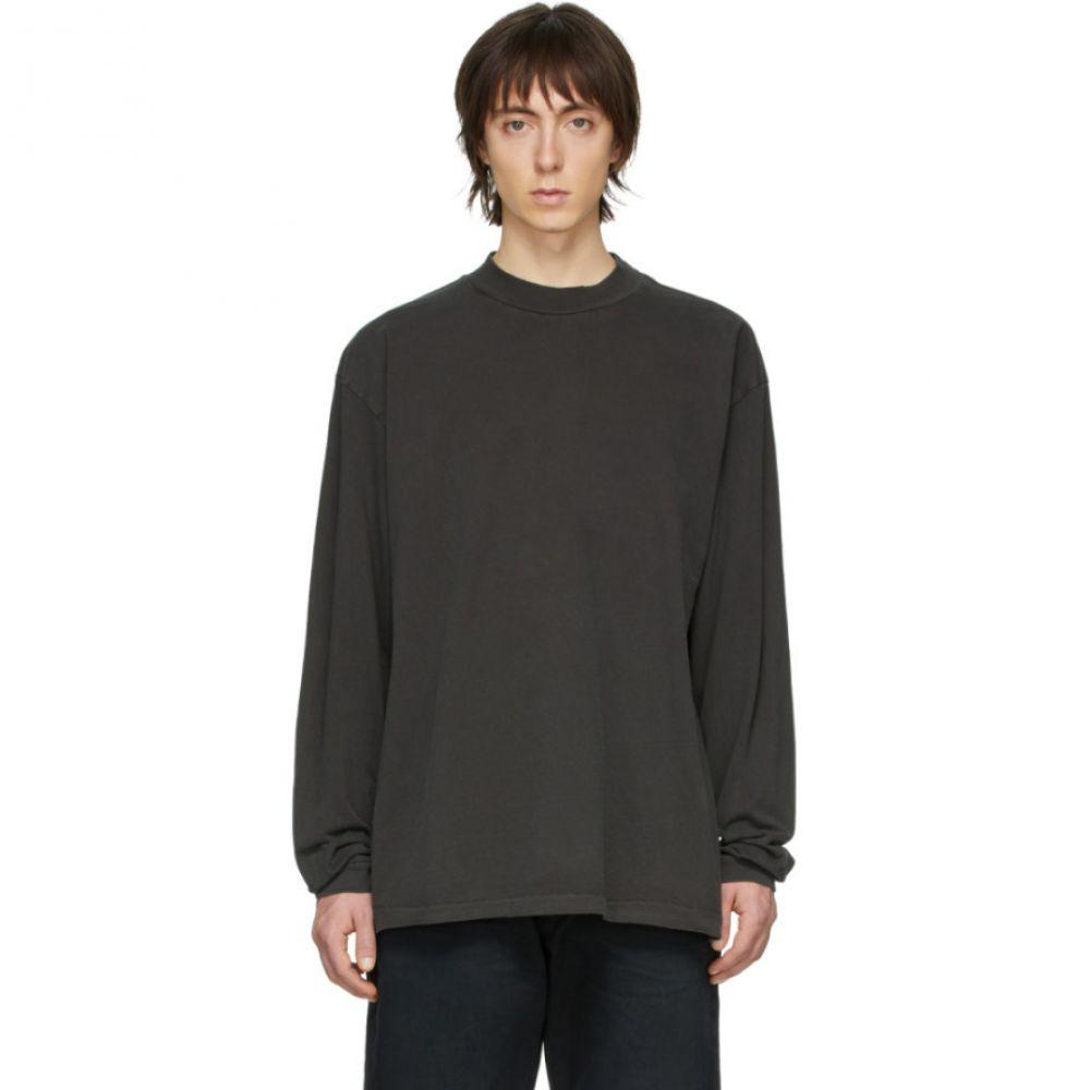 ジョン エリオット John Elliott メンズ Tシャツ トップス【Grey 900 Mock T-Shirt】Carbon