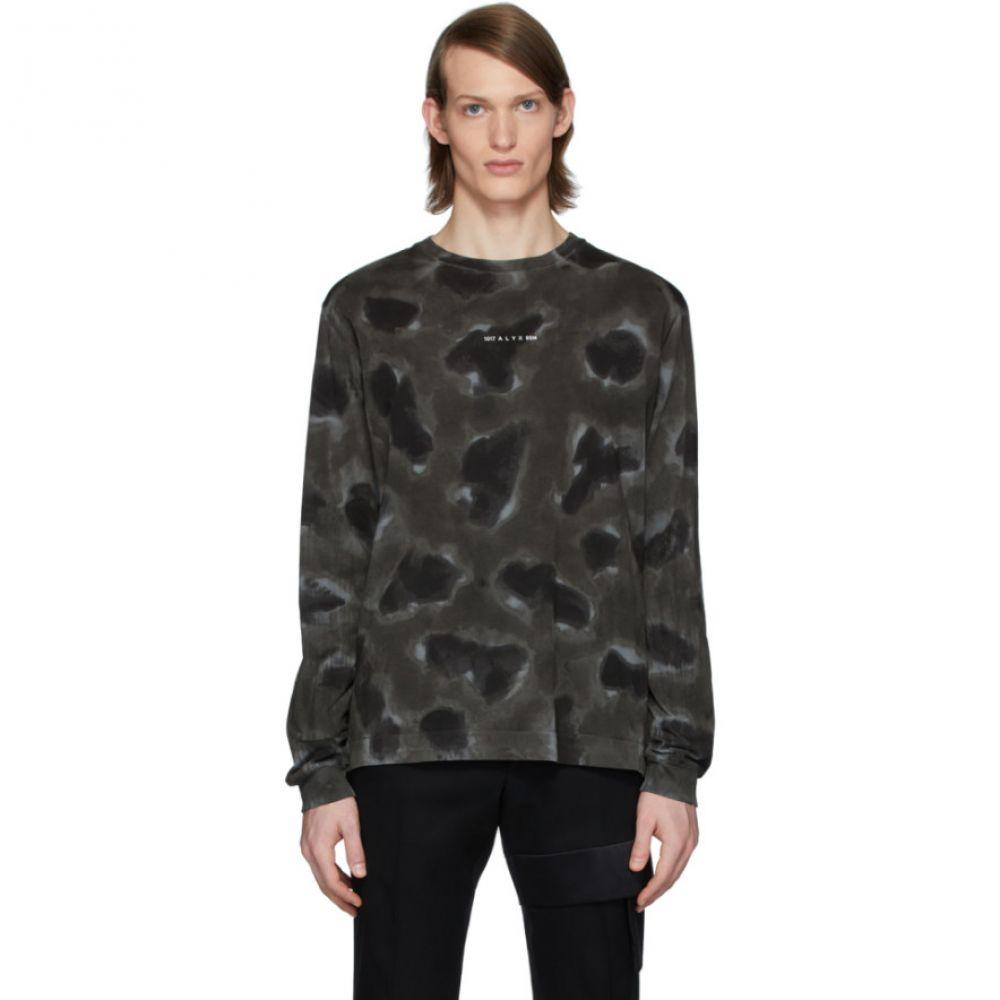 アリクス 1017 ALYX 9SM メンズ 長袖Tシャツ トップス【Black 'A' Sphere Long Sleeve T-Shirt】Black