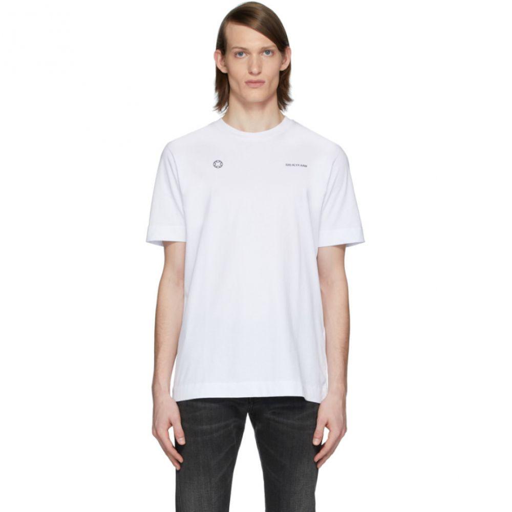アリクス 1017 ALYX 9SM メンズ Tシャツ トップス【White Logo T-Shirt】White