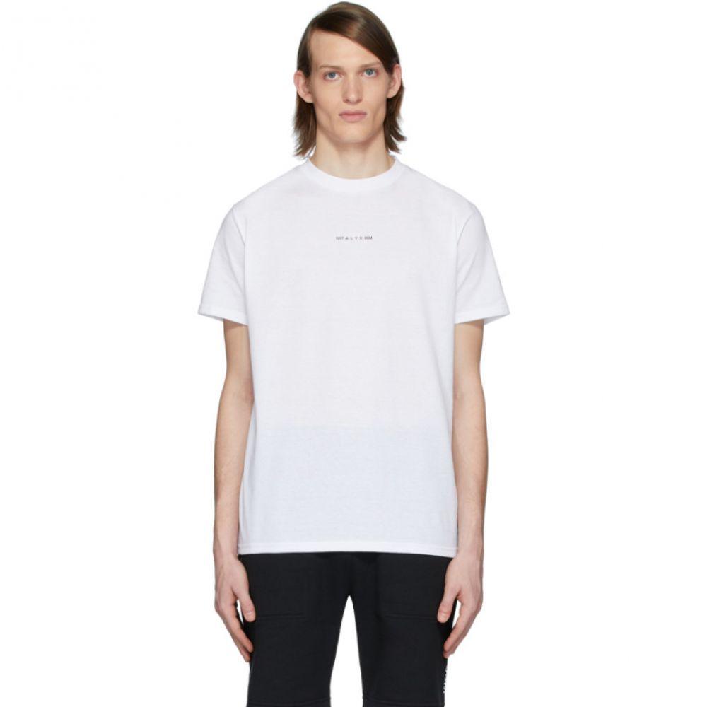 アリクス 1017 ALYX 9SM メンズ Tシャツ トップス【White Logo Visual T-Shirt】White