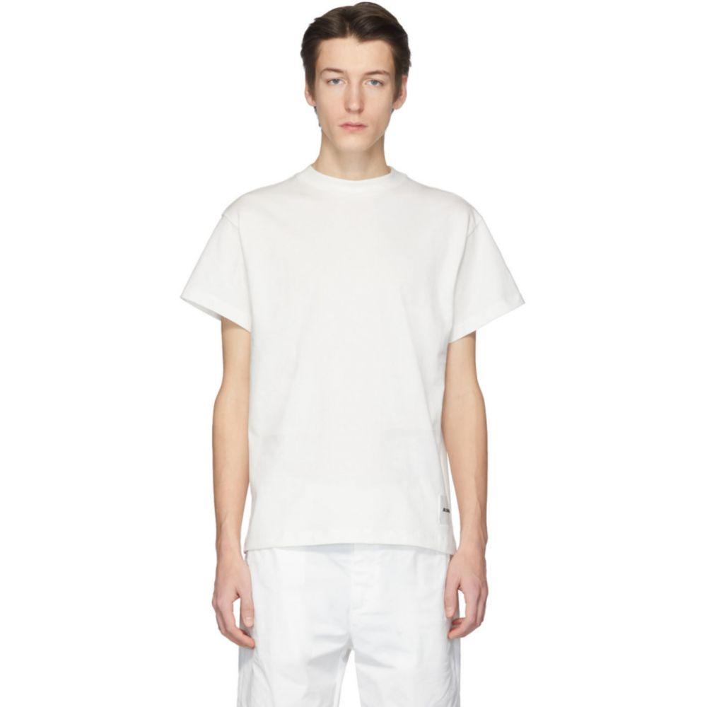 ジル サンダー Jil Sander+ メンズ Tシャツ トップス【Three-Pack White Organic Cotton T-Shirt】White