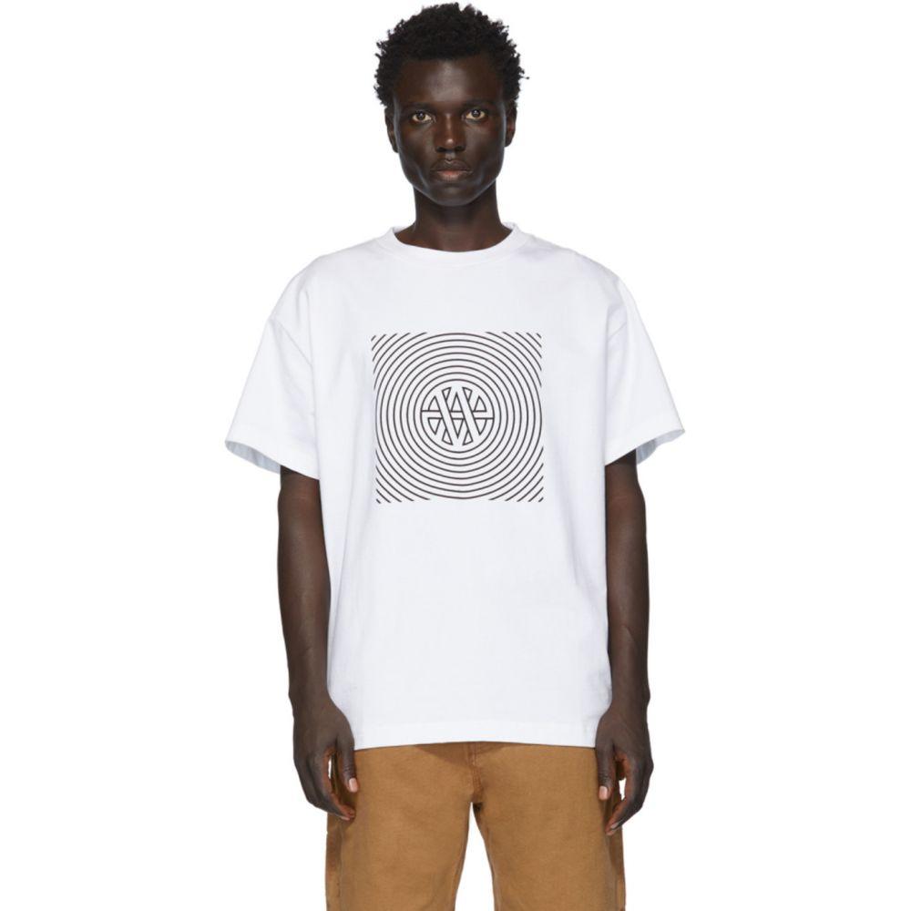 ヴァイナー アーティクルズ Vyner Articles メンズ Tシャツ トップス【White Trance Vision T-Shirt】White
