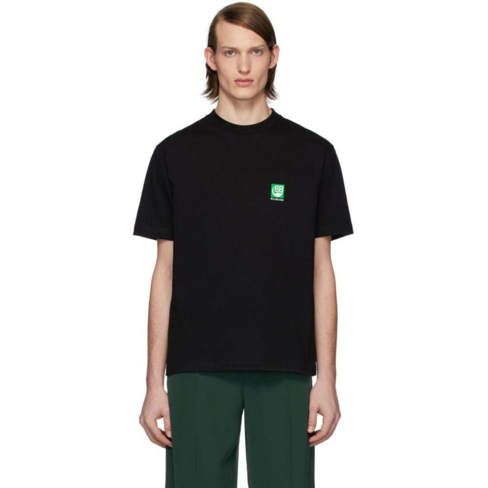 バレンシアガ Balenciaga メンズ Tシャツ トップス【Black Vintage Logo T-Shirt】Black