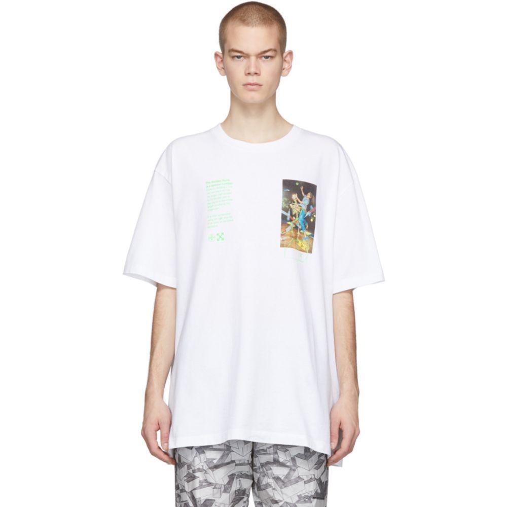 オフホワイト Off-White メンズ Tシャツ トップス【White Pascal Painting Over T-Shirt】White multi