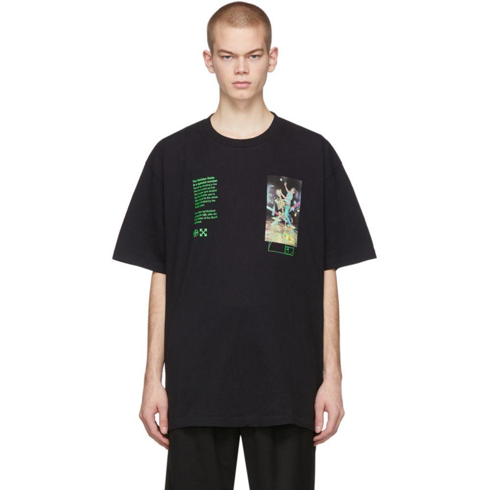 オフホワイト Off-White メンズ Tシャツ トップス【Black Pascal Painting Over T-Shirt】Black/Multicolor