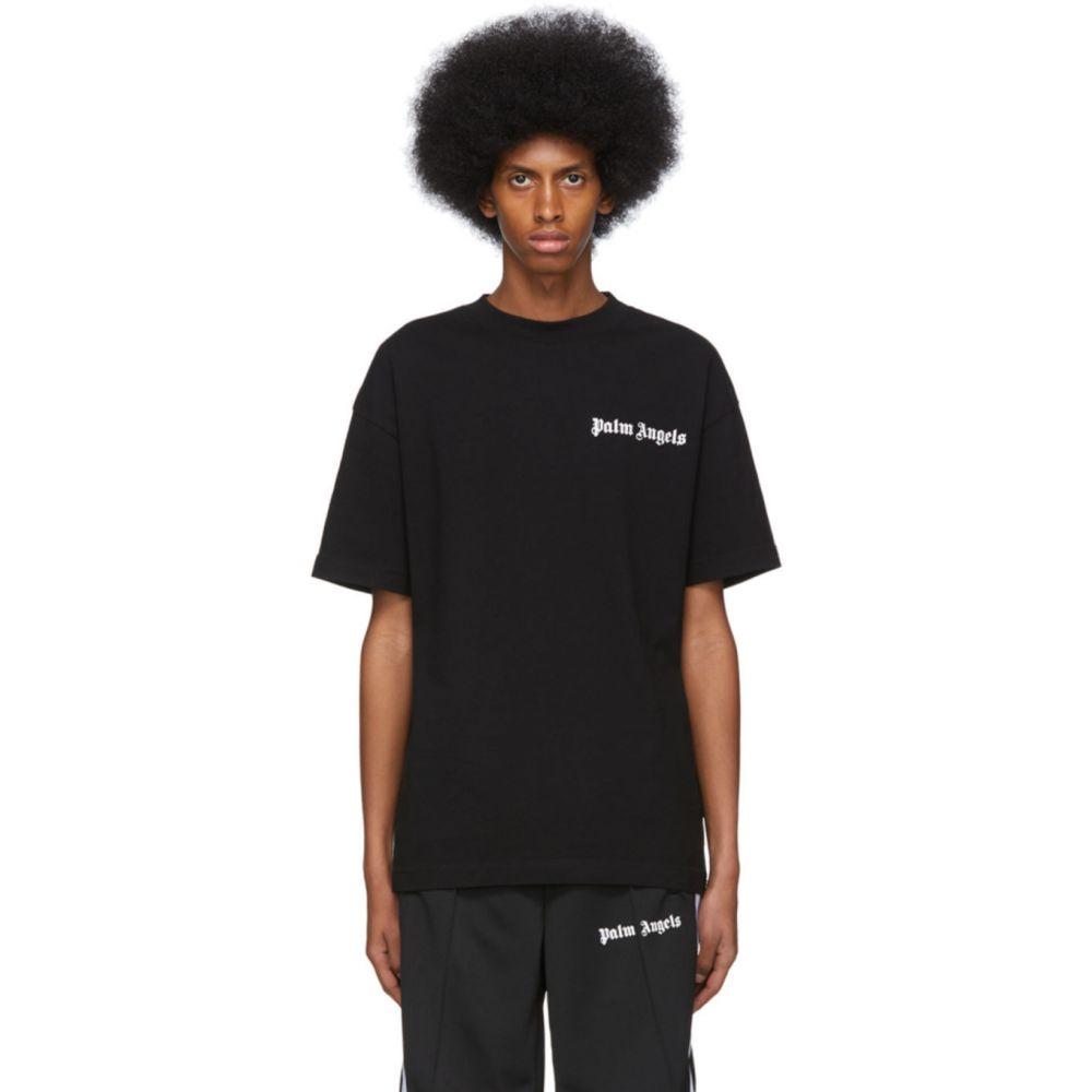 パーム エンジェルス Palm Angels メンズ Tシャツ トップス【Black New Basic T-Shirt】Black/White