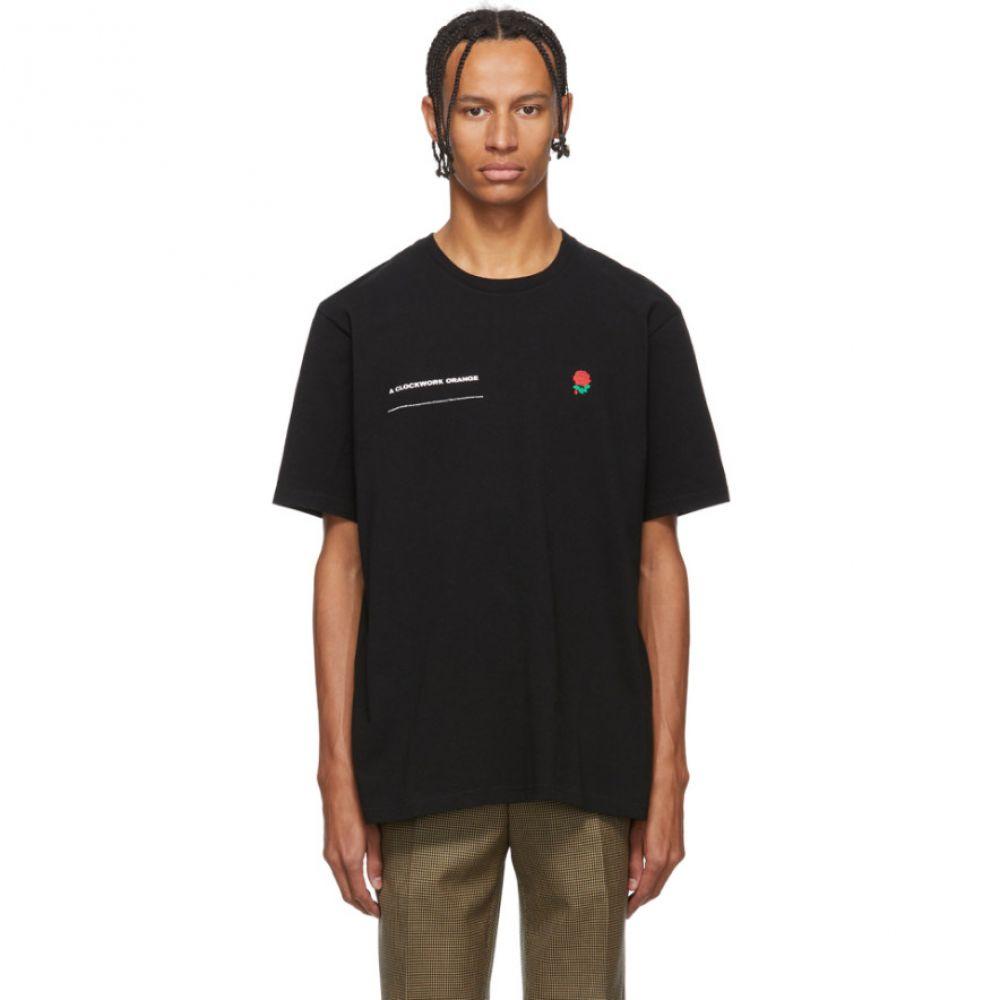 アンダーカバー Undercover メンズ Tシャツ トップス【Black A Clockwork Orange Rose T-Shirt】Black