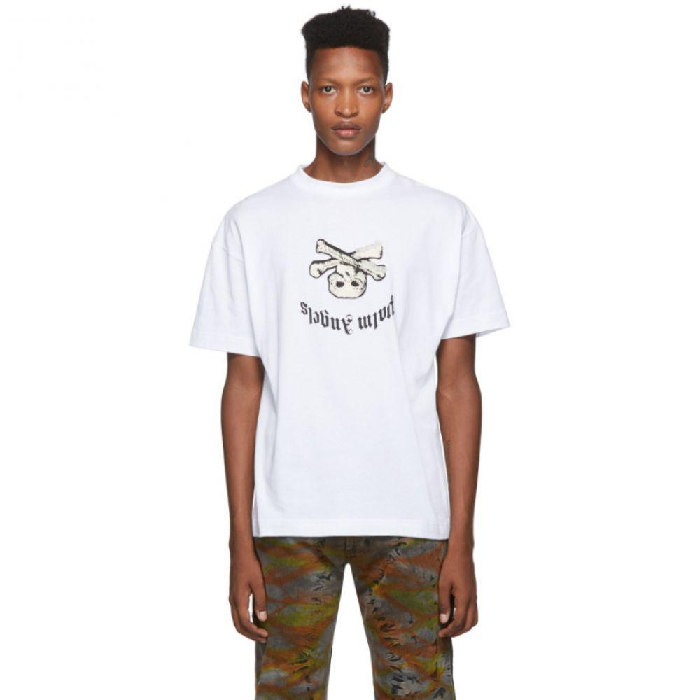 パーム エンジェルス Palm Angels メンズ Tシャツ トップス【White New Skull T-Shirt】White multicolor