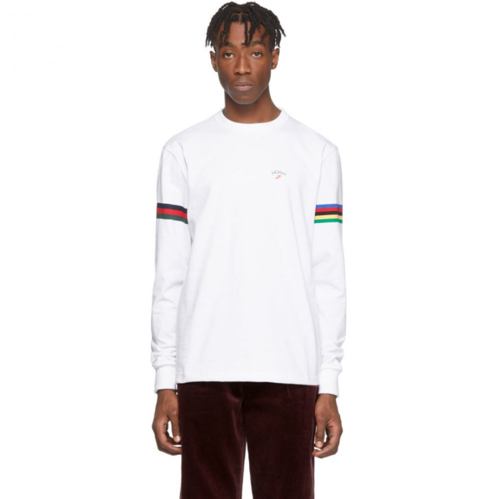 ノア Noah NYC メンズ Tシャツ トップス【White Winged Foot T-Shirt】White