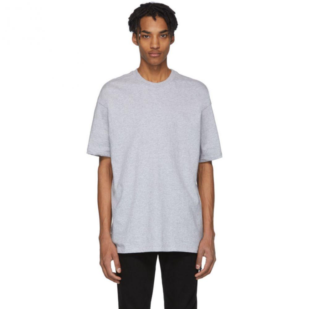 スビ Ksubi メンズ Tシャツ トップス【Grey T-Box Biggie T-Shirt】Light grey