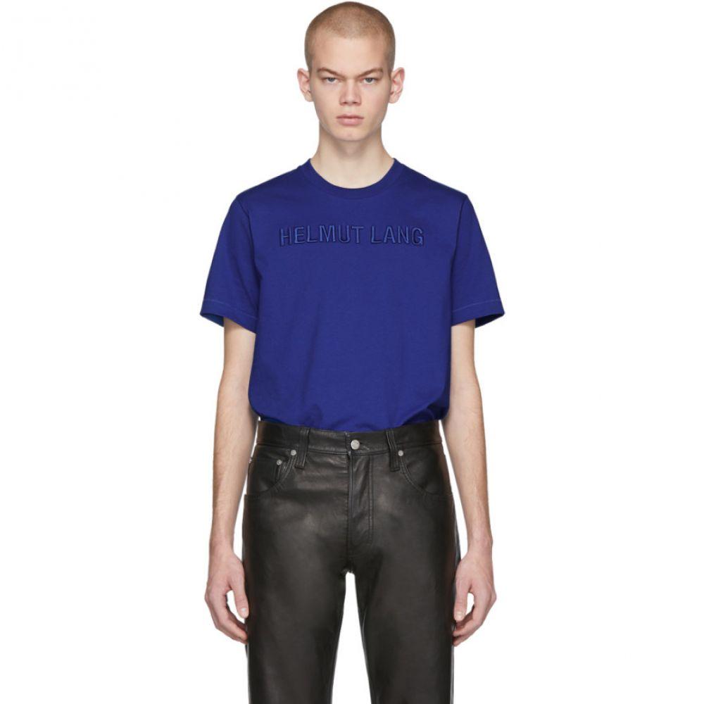 ヘルムート ラング Helmut Lang メンズ Tシャツ トップス【Blue Standard T-Shirt】Azurite