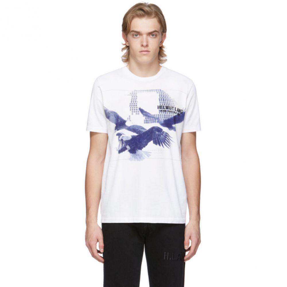 ヘルムート ラング Helmut Lang メンズ Tシャツ トップス【White Eagle Standard T-Shirt】Chalk white