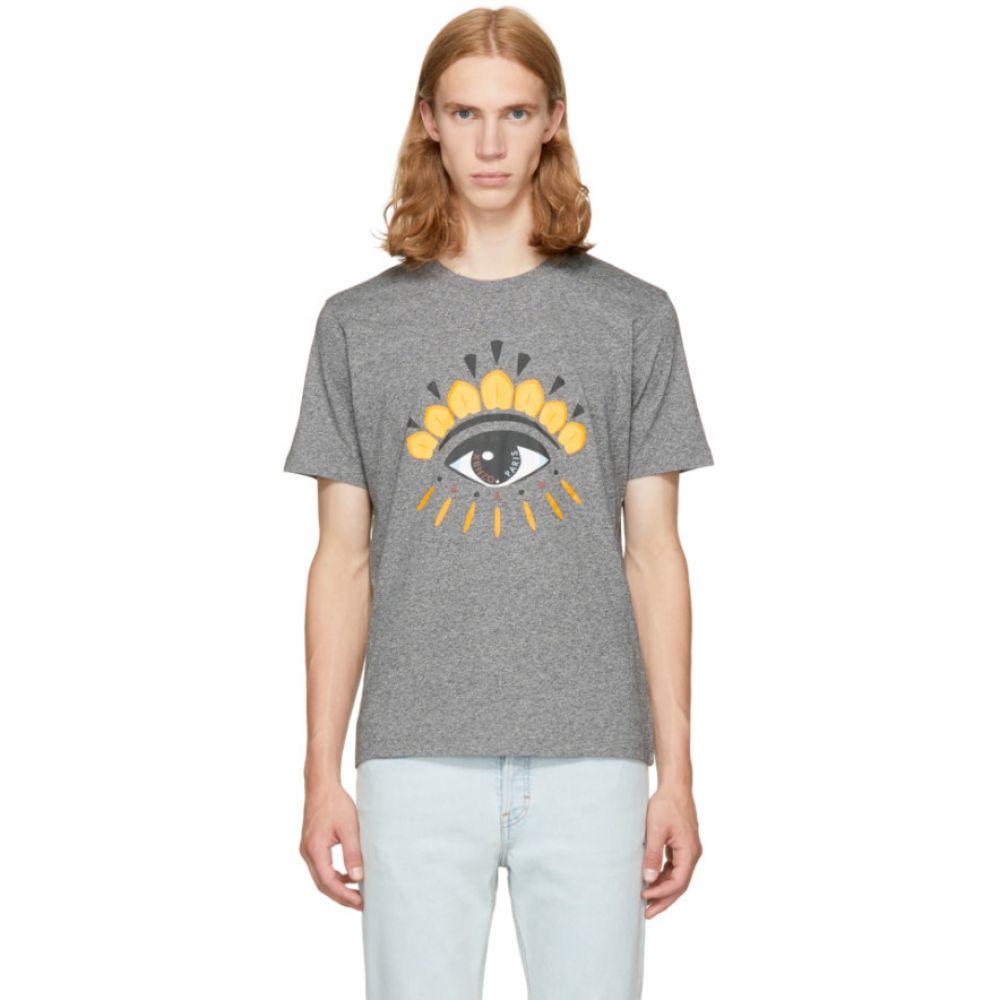ケンゾー Kenzo メンズ Tシャツ トップス【Grey Eye T-Shirt】