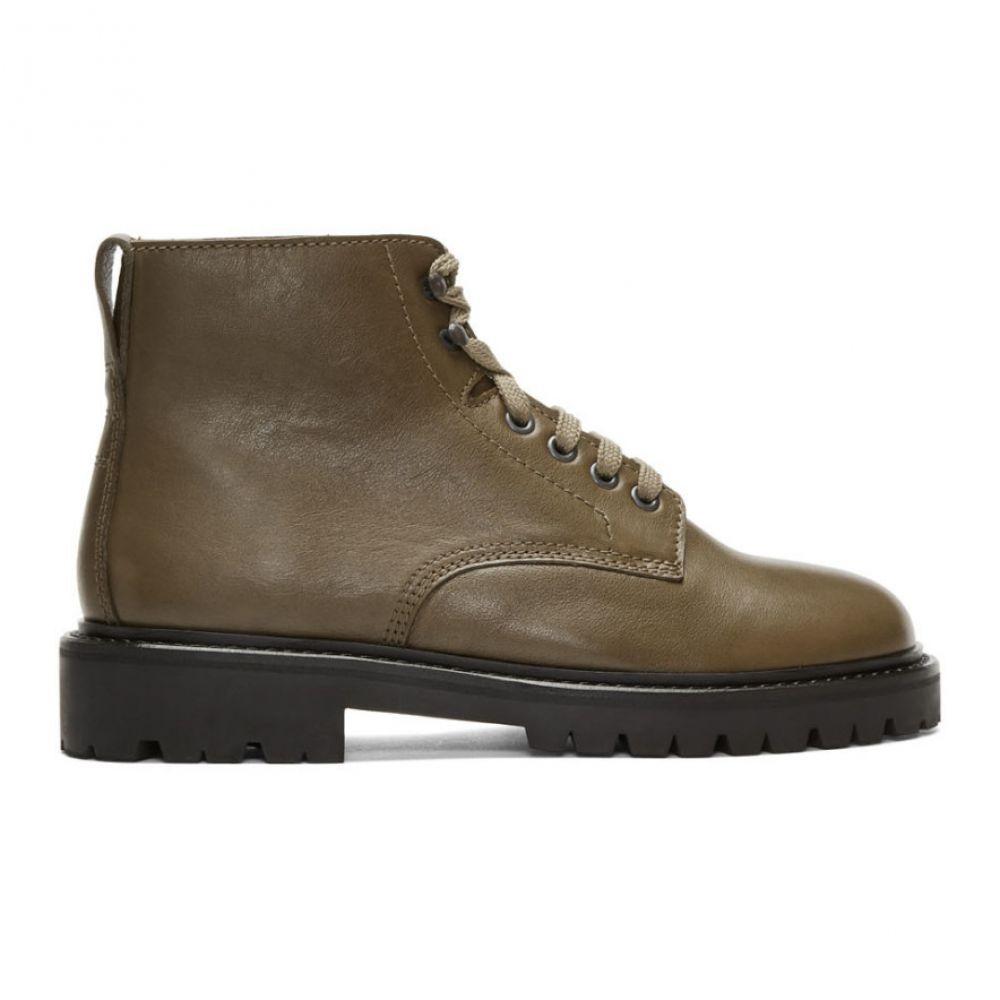 イザベル マラン Isabel Marant メンズ ブーツ シューズ・靴【Khaki Camp Boots】Khaki