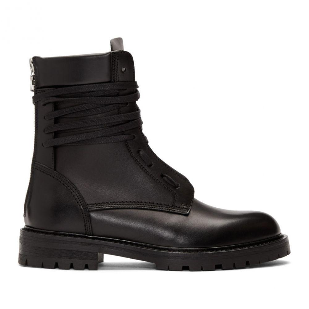 アミリ Amiri メンズ ブーツ コンバットブーツ シューズ・靴【Black Combat Boots】Black