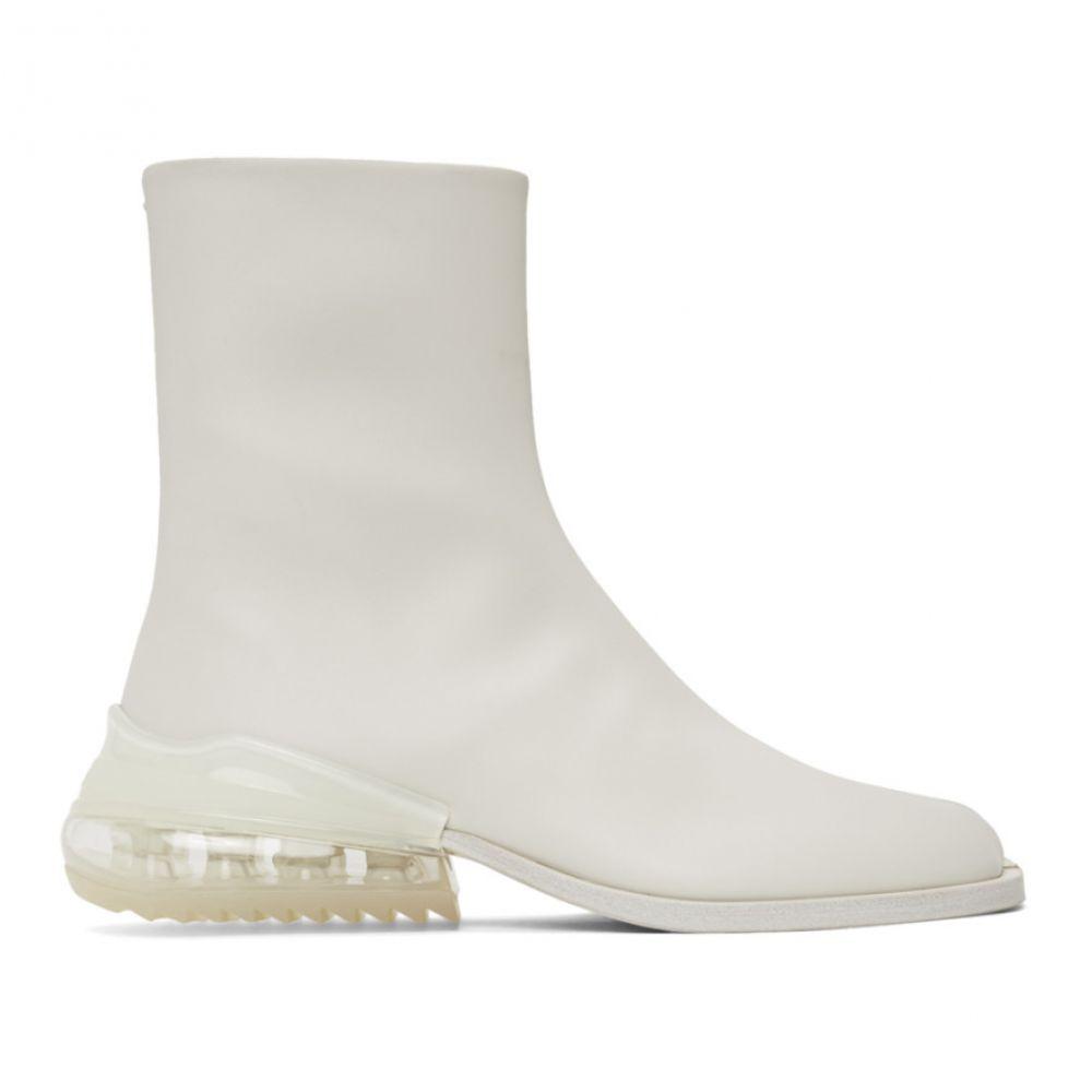 メゾン マルジェラ Maison Margiela メンズ ブーツ シューズ・靴【White Airbag Tabi Boots】White