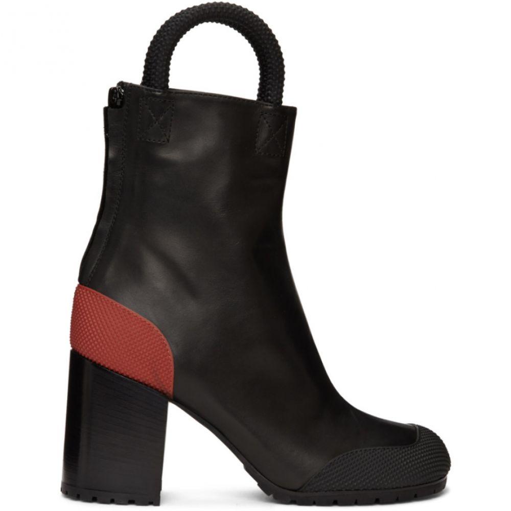 ランダム アイデンティティーズ Random Identities メンズ ブーツ シューズ・靴【Black & Red Worker Boots】Black/Red