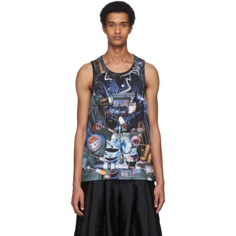 コム デ ギャルソン Comme des Garcons Homme Plus メンズ タンクトップ トップス【Multicolor Industrial Tank Top】A pattern