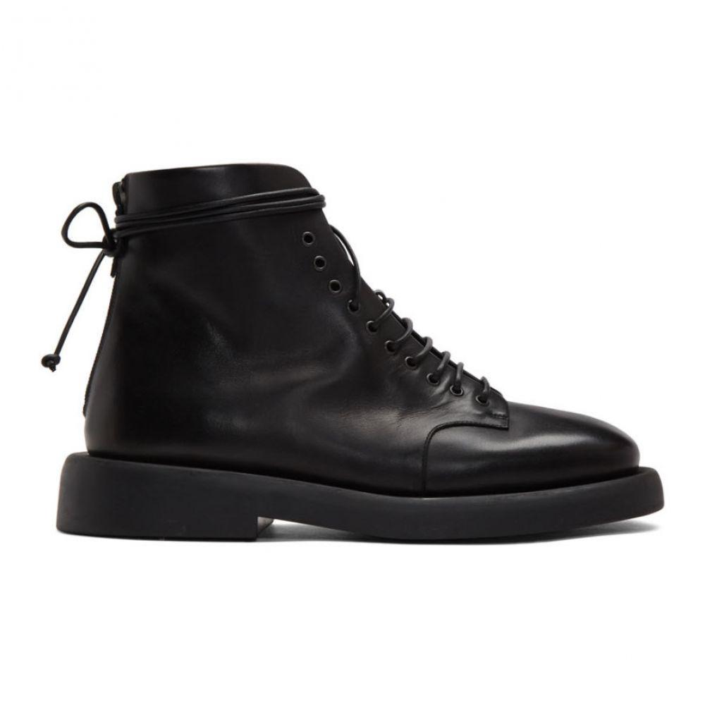 マルセル Marsell メンズ ブーツ シューズ・靴【Black Gomme Polacco Boots】Black