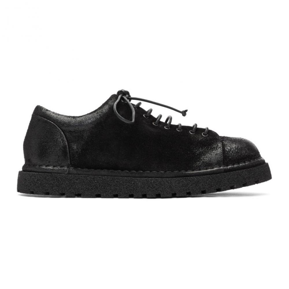 マルセル Marsell メンズ ブーツ シューズ・靴【Black Gomme Low-Top Boots】Black