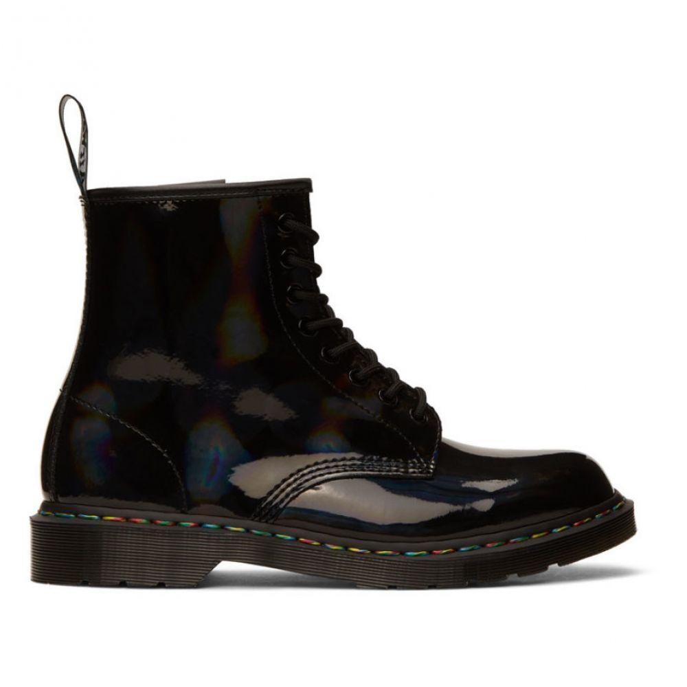 ドクターマーチン Dr. Martens メンズ ブーツ シューズ・靴【Black Iridescent 1460 Boots】Black