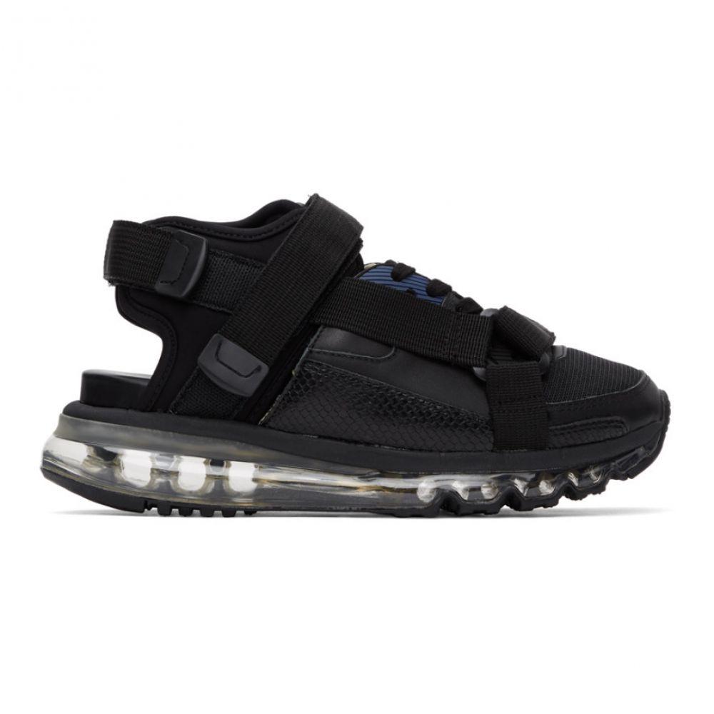 ミハラ ヤスヒロ Miharayasuhiro メンズ サンダル シューズ・靴【Black Half & Half Sandals】Black