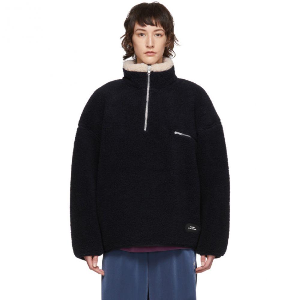 ラスベート Rassvet レディース フリース トップス【Navy Wool Fleece Sweater】Navy