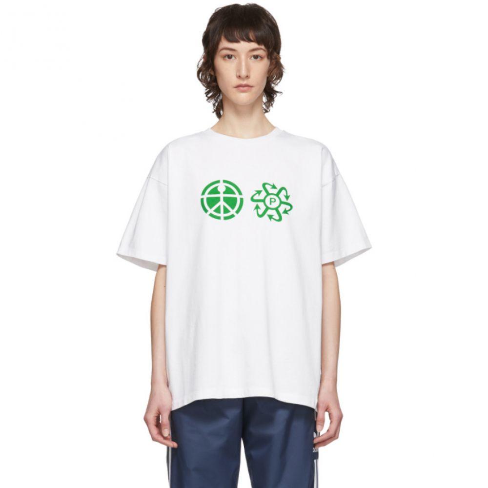 ラスベート Rassvet レディース Tシャツ トップス【White Logo T-Shirt】White
