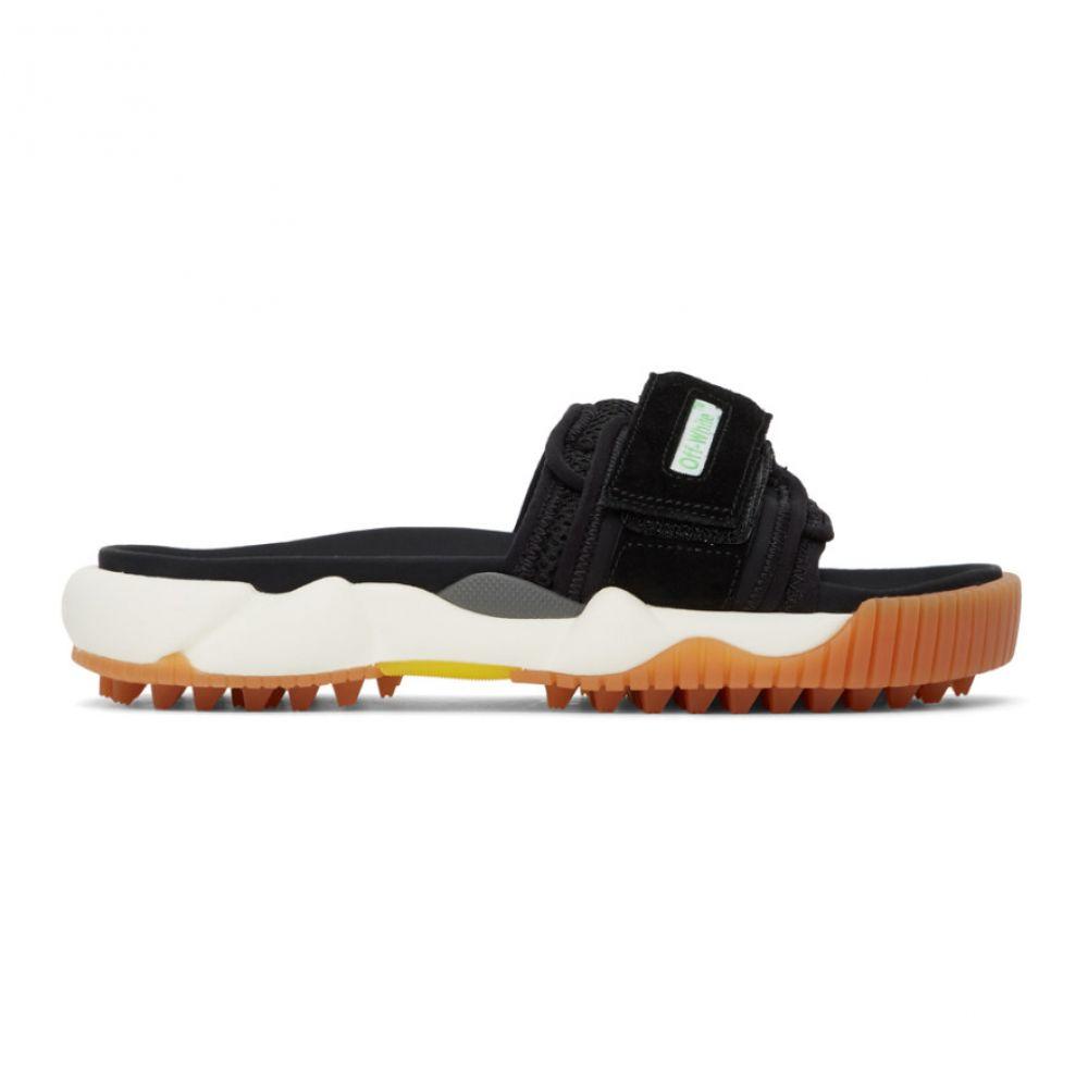 オフホワイト Off-White メンズ サンダル シューズ・靴【Black Oddsy Minimal Slider Sandals】Black/No color