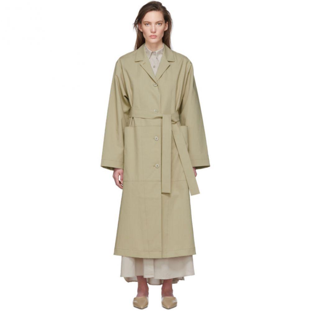 ジュリアジェンツ Julia Jentzsch レディース トレンチコート アウター【Beige Winona Coat】Clay