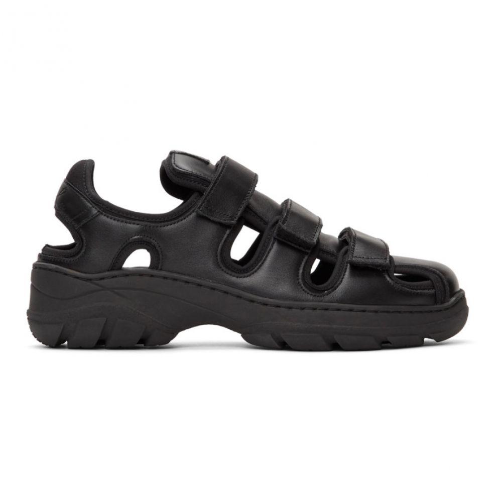 マーティン ローズ Martine Rose メンズ サンダル シューズ・靴 Black Hiking Sandals BlackAL4Rj53