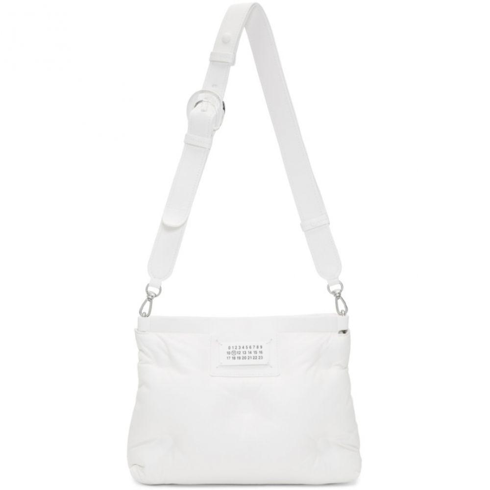 メゾン マルジェラ Maison Margiela レディース ショルダーバッグ バッグ【White Small Glam Slam Bag】White