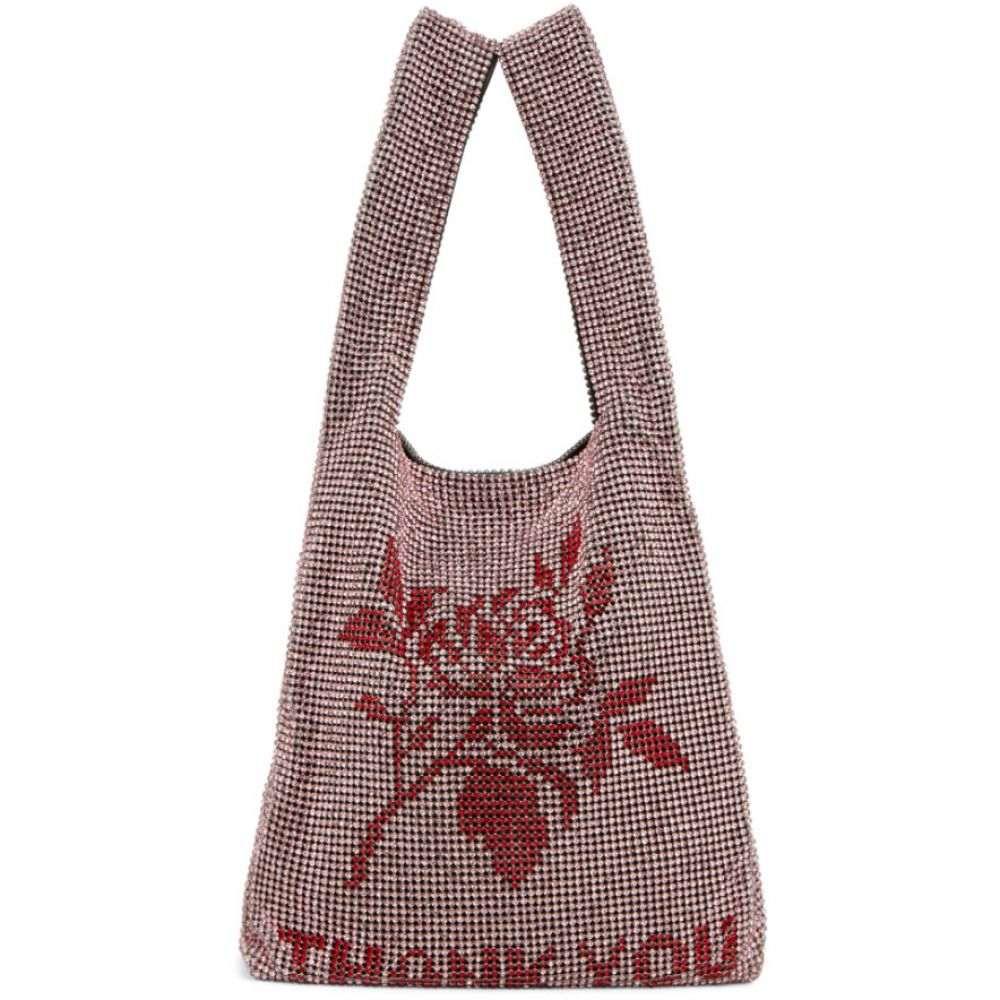 アレキサンダー ワン Alexander Wang レディース トートバッグ バッグ【Pink Mini Wangloc 'Thank You' Shopper Tote】Pink/Red