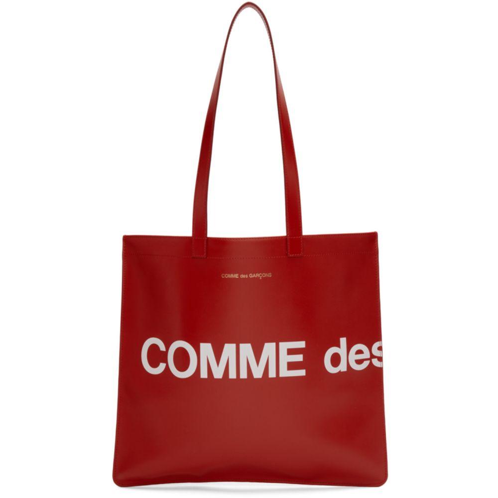 コム デ ギャルソン Comme des Garcons Wallets レディース トートバッグ バッグ【Red Huge Logo Tote】Red
