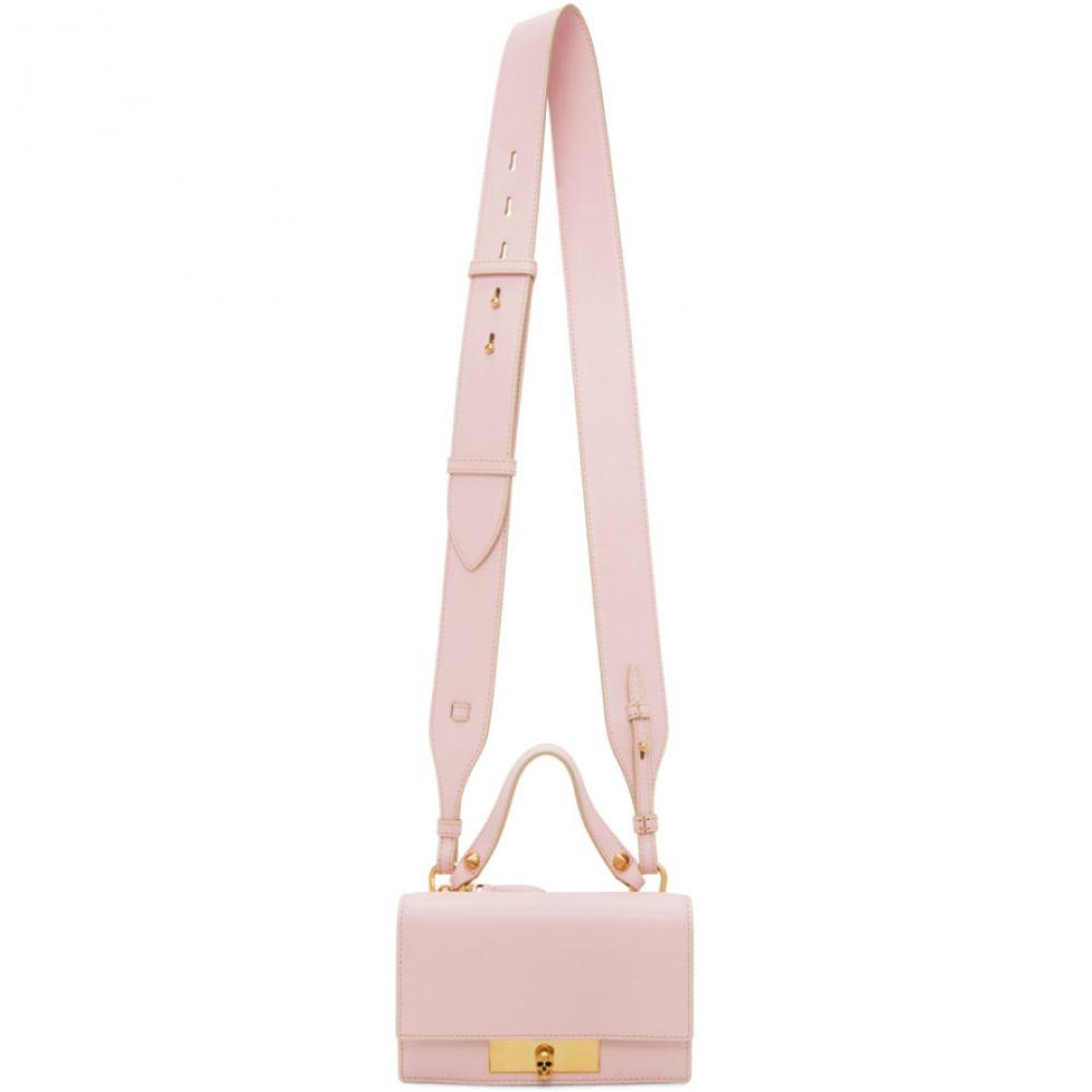 アレキサンダー マックイーン Alexander McQueen レディース ショルダーバッグ バッグ【Pink Small Skull Lock Bag】Pink