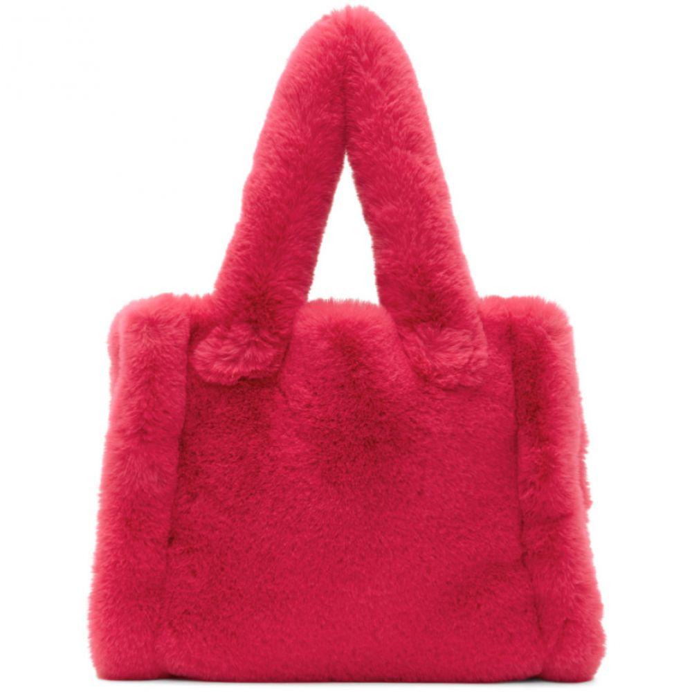 スタンドスタジオ Stand Studio レディース トートバッグ バッグ【Pink Faux-fur Small Liz Tote】Fuchsia