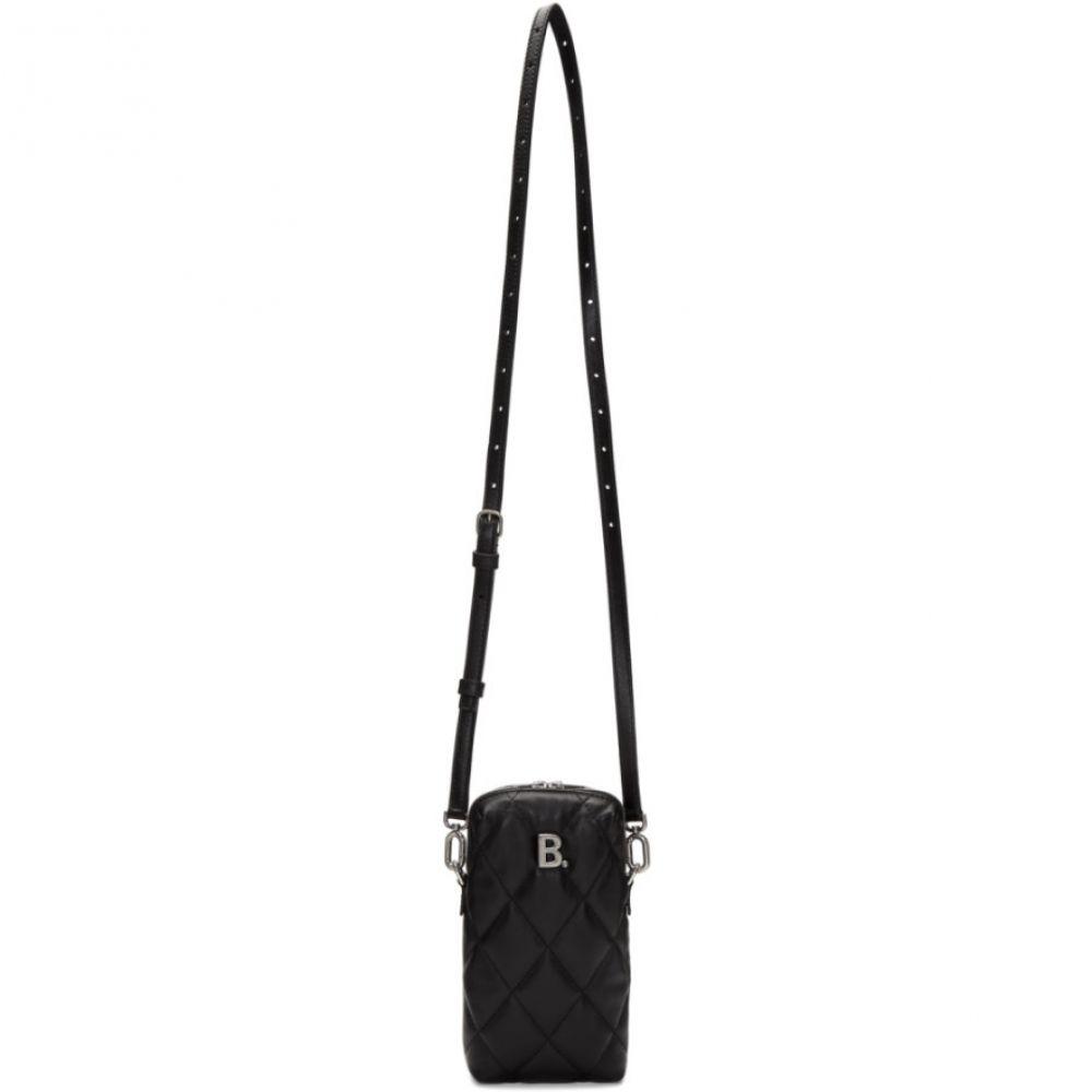 バレンシアガ Balenciaga レディース ショルダーバッグ バッグ【Black B. Touch Rectangle Bag】Black