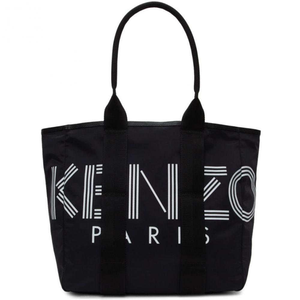 ケンゾー Kenzo レディース トートバッグ バッグ【Black Logo Tote】Black