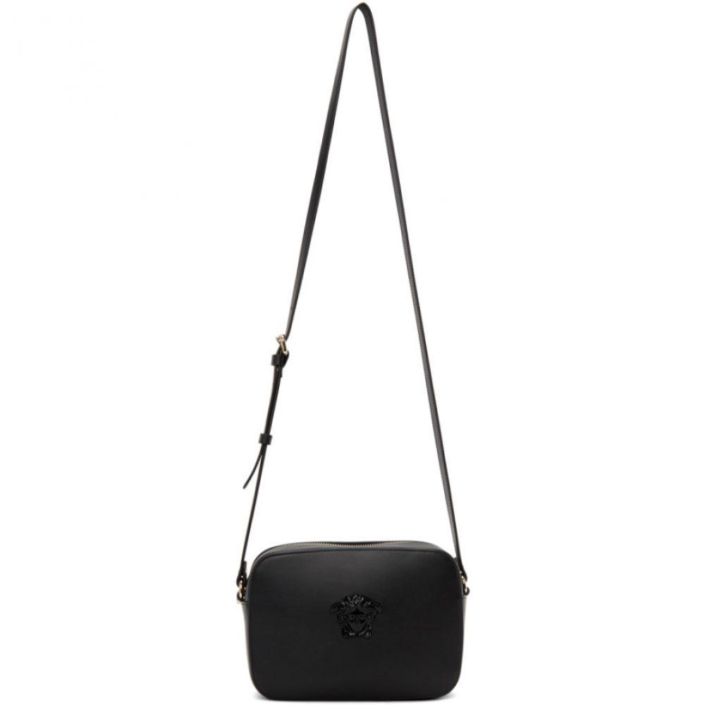 ヴェルサーチ Versace レディース ショルダーバッグ メデューサ カメラバッグ バッグ【Black Medusa Camera Bag】Black