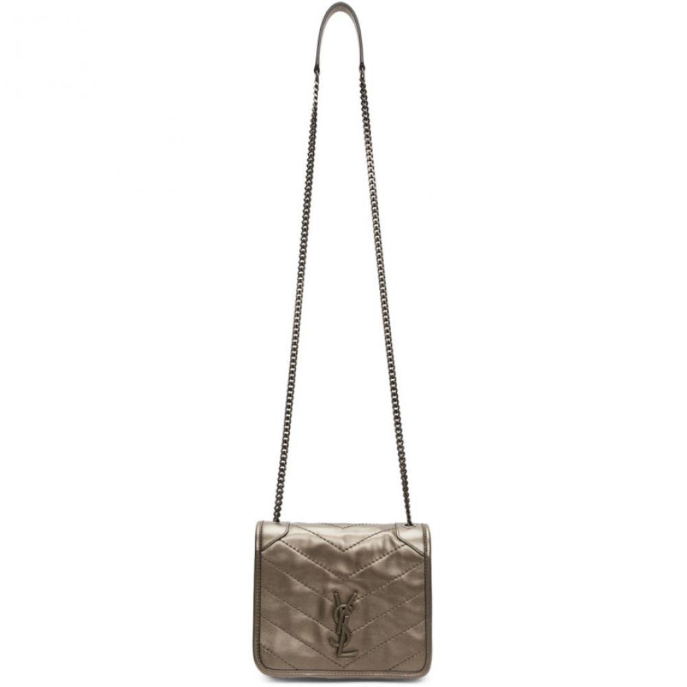 イヴ サンローラン Saint Laurent レディース ショルダーバッグ バッグ【Silver Niki Chain Wallet Bag】Metallic