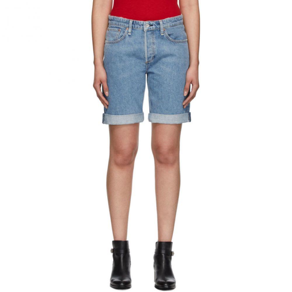 ラグ&ボーン rag & bone レディース ショートパンツ ボトムス・パンツ【Blue Misha Mid-Rise Walking Shorts】Misha