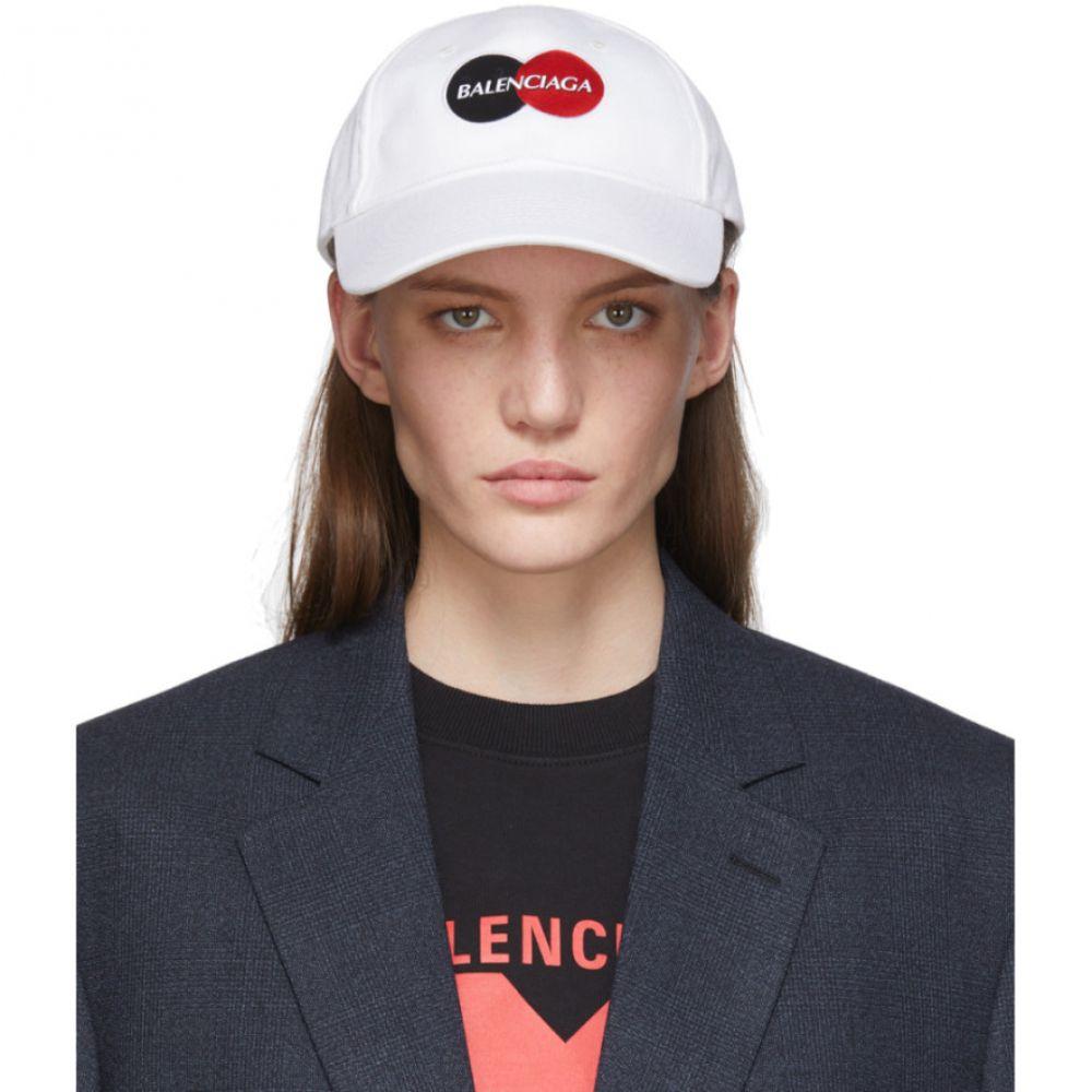 バレンシアガ Balenciaga レディース キャップ 帽子【White Uniform Logo Cap】White