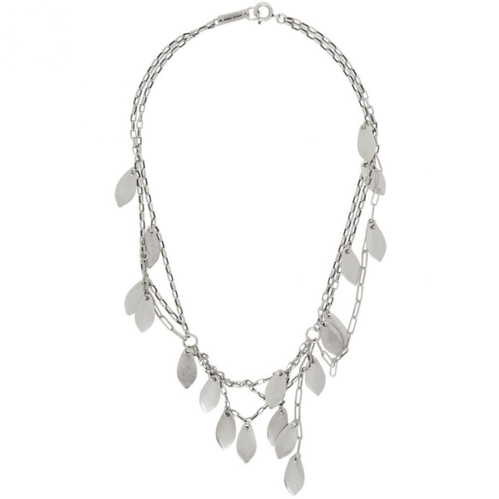 イザベル マラン Isabel Marant レディース ネックレス ジュエリー・アクセサリー【Silver Multiple Necklace】Silver