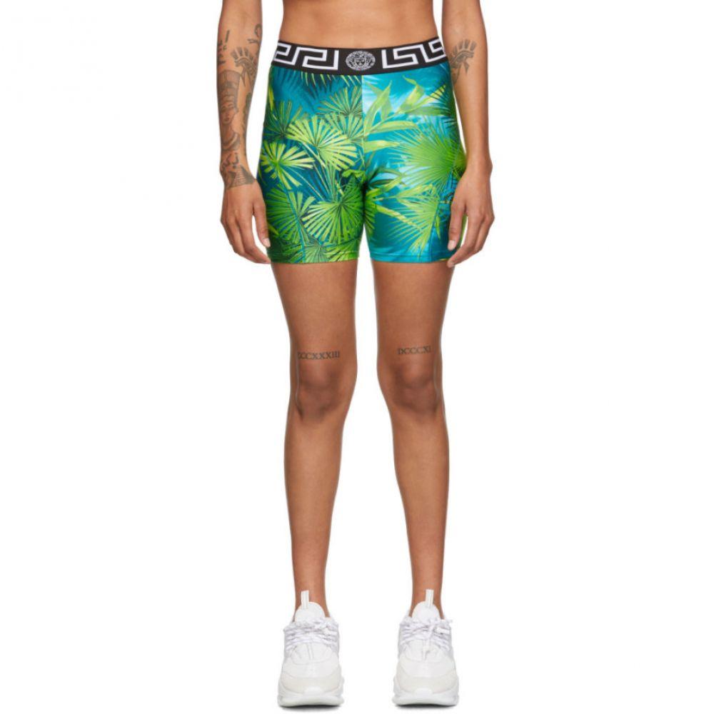ヴェルサーチ Versace Underwear レディース ショートパンツ ボトムス・パンツ【Green Jungle Shorts】Green