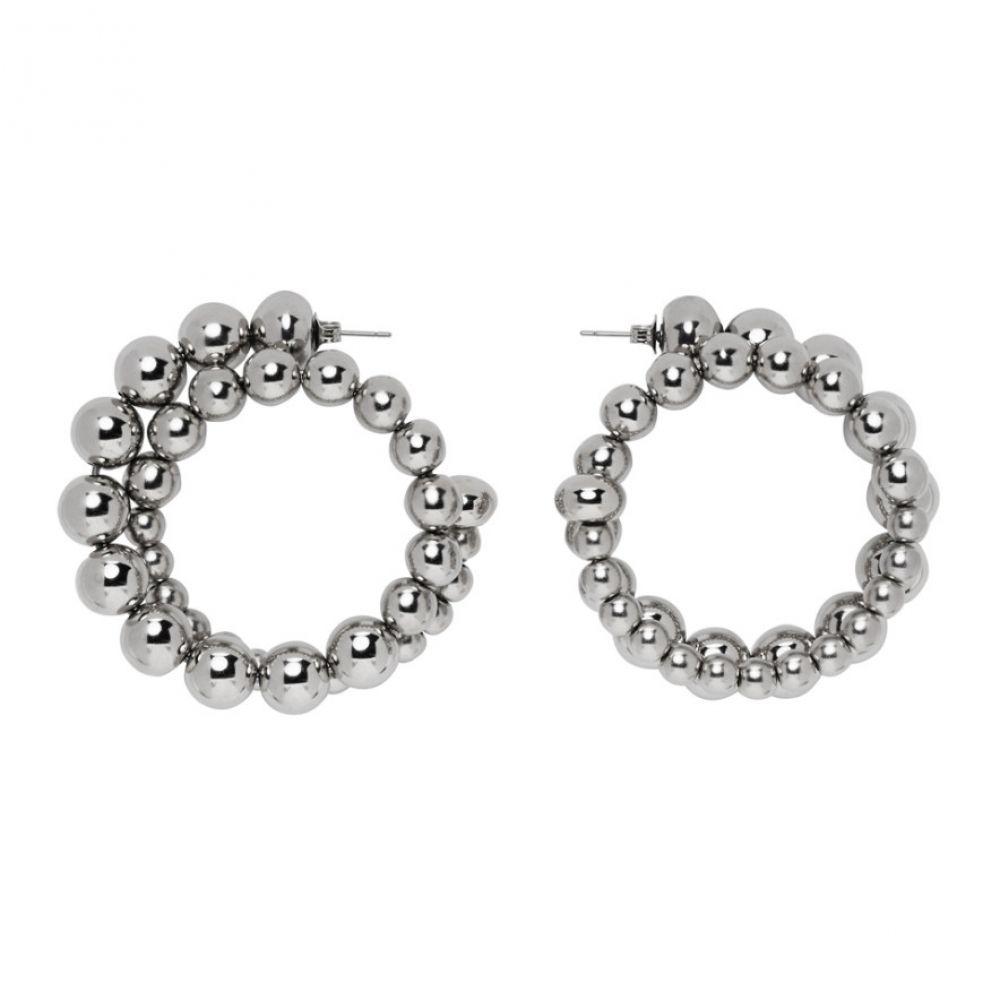 サイモンミラー Simon Miller レディース イヤリング・ピアス ジュエリー・アクセサリー【Silver Ram Hoop Earrings】Silver
