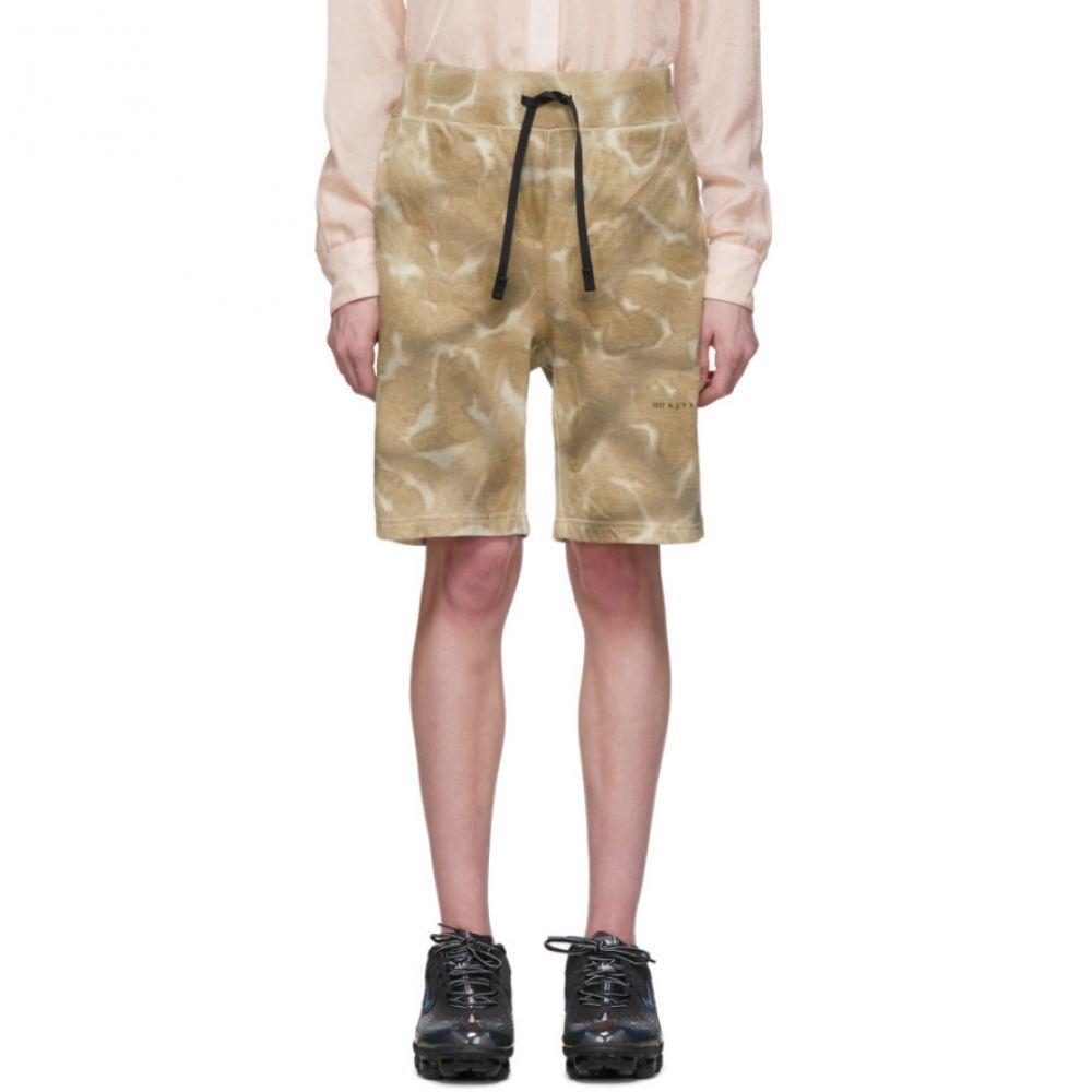アリクス 1017 ALYX 9SM レディース ショートパンツ ボトムス・パンツ【Beige Printed Shorts】Dark sand